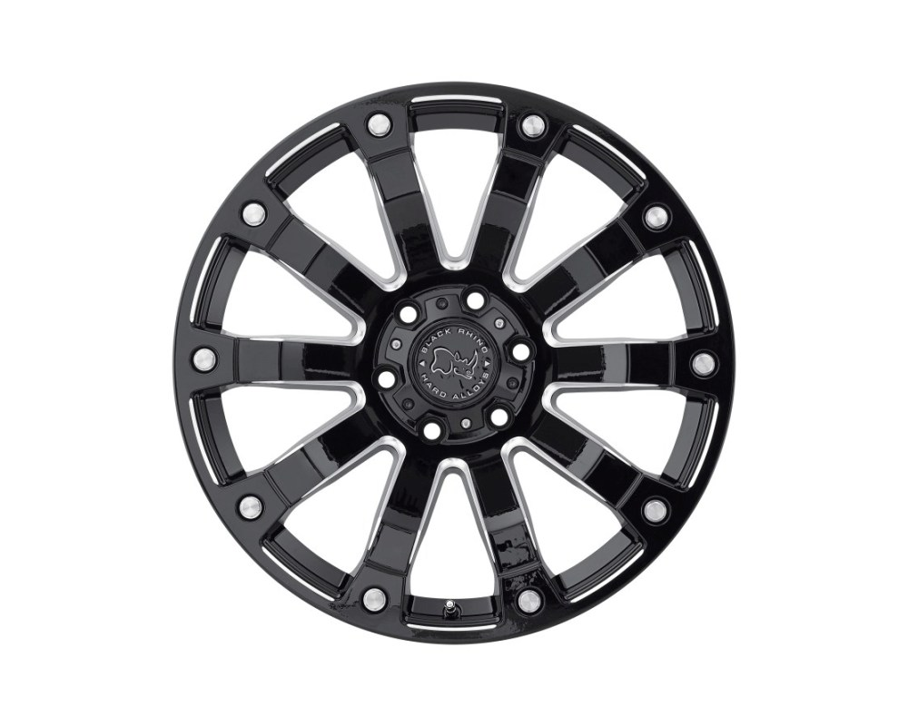 Black Rhino Selkirk Gloss Black Milled Wheel 18x9 6x139.70|6x5.5 12mm CB112