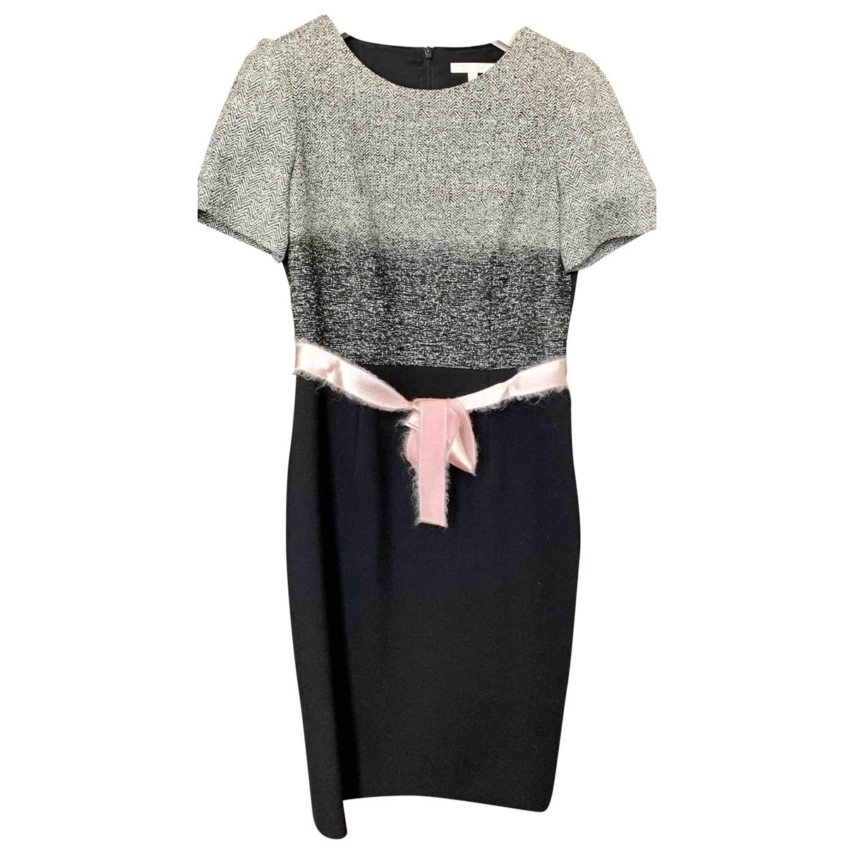 Paule Ka \N Black Wool dress for Women 38 FR