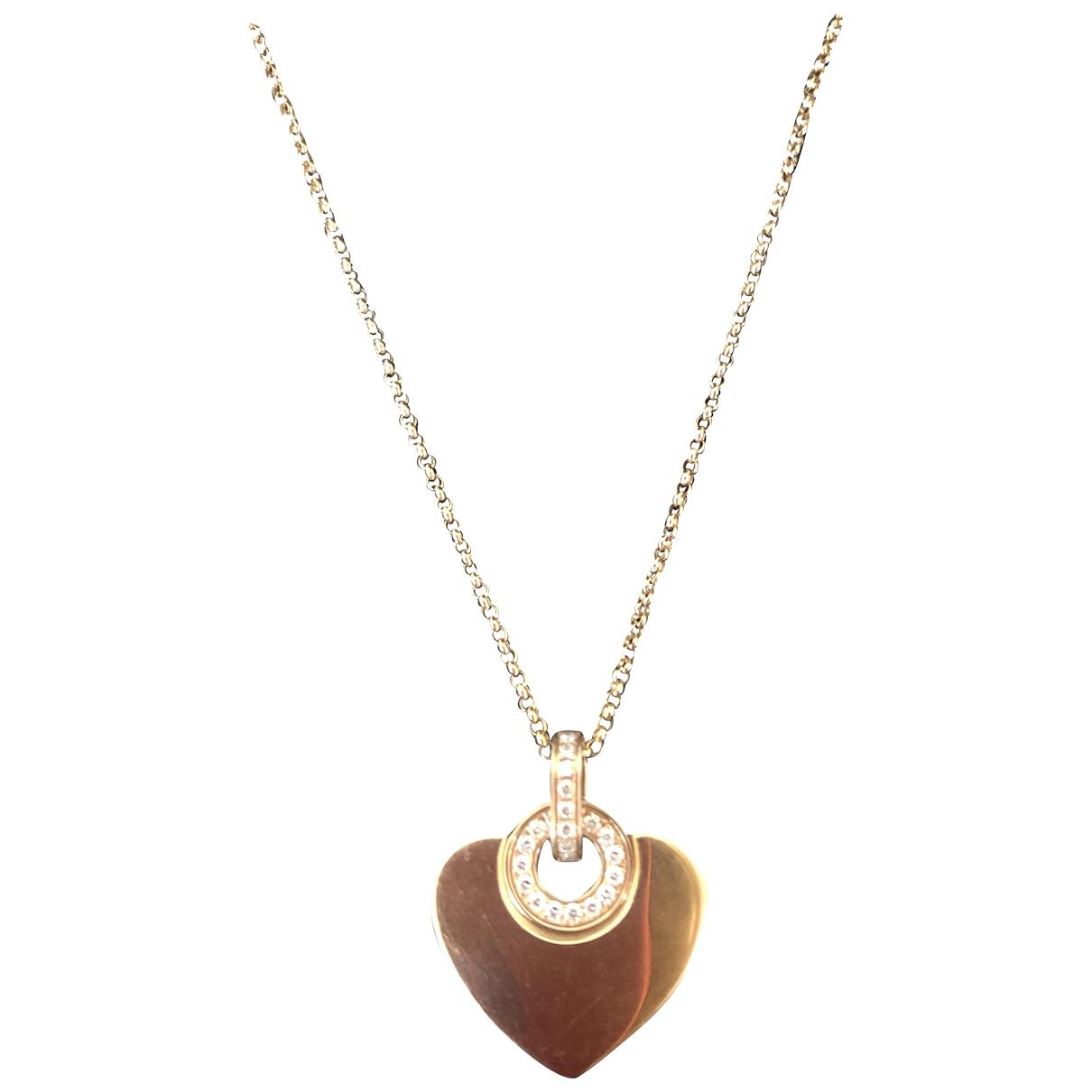 Bvlgari \N Gold Pink gold pendant for Women \N