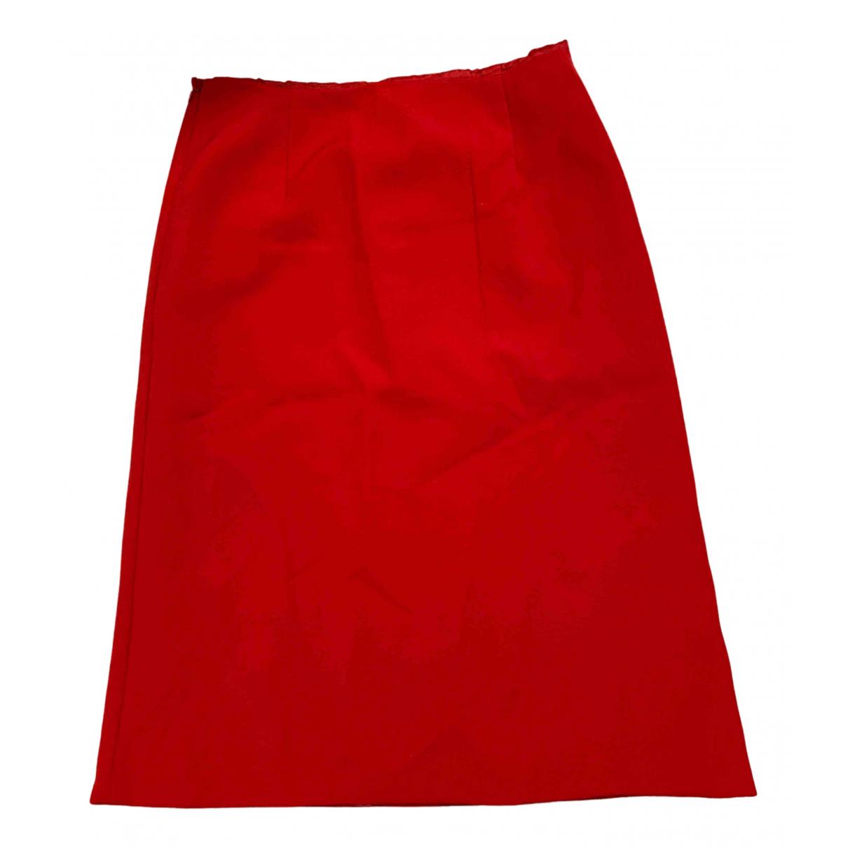 Valentino Garavani - Jupe   pour femme - rouge