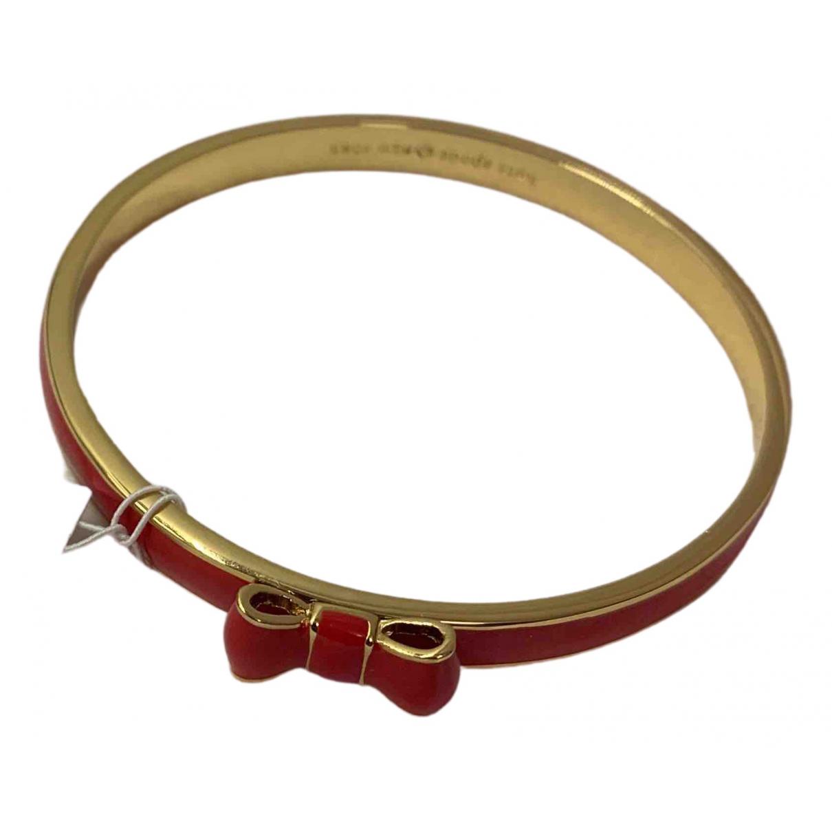 Kate Spade - Bracelet   pour femme en metal - rouge