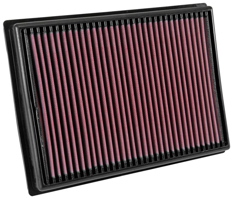 K&N 33-3045 Replacement Air Filter Toyota Hilux 2018-2019 2.8L 4-Cyl