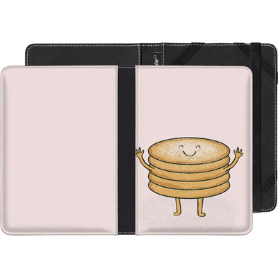 Pocketbook Touch Lux eBook Reader Huelle - Pancake-man with Sugar von caseable Designs