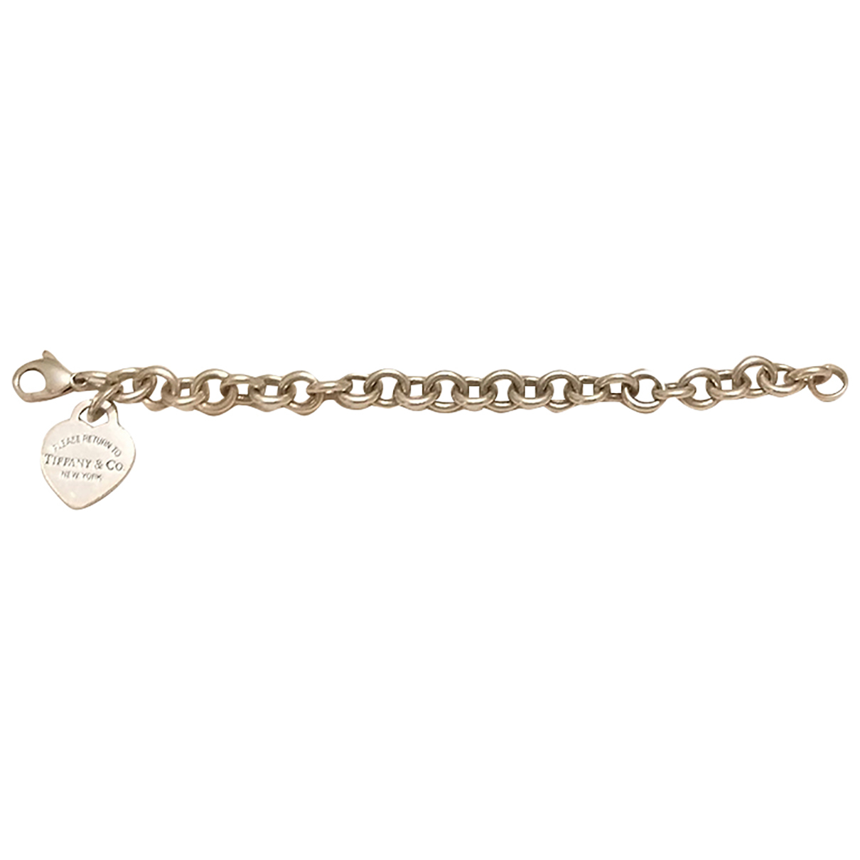 Tiffany & Co Return to Tiffany Armband in  Silber Silber