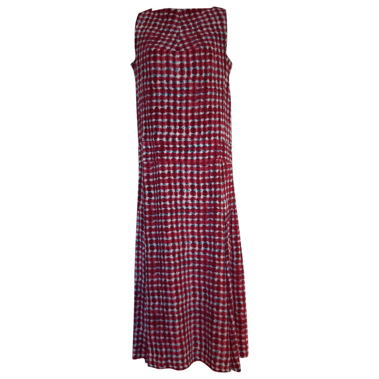 Tory Burch \N Kleid in  Rot Seide