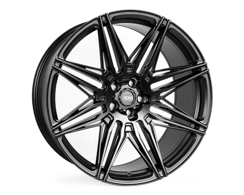ADV1 ADV08 Semi Concave Wheel 22x9.0 5x112 30mm Satin Black