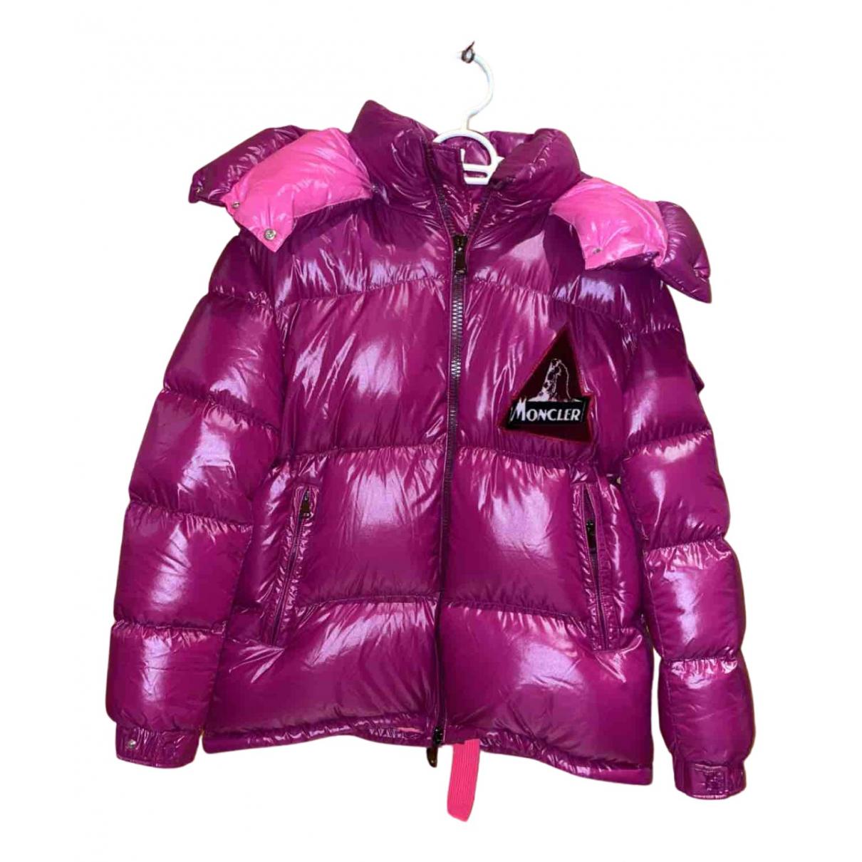 Moncler - Manteau   pour femme - violet