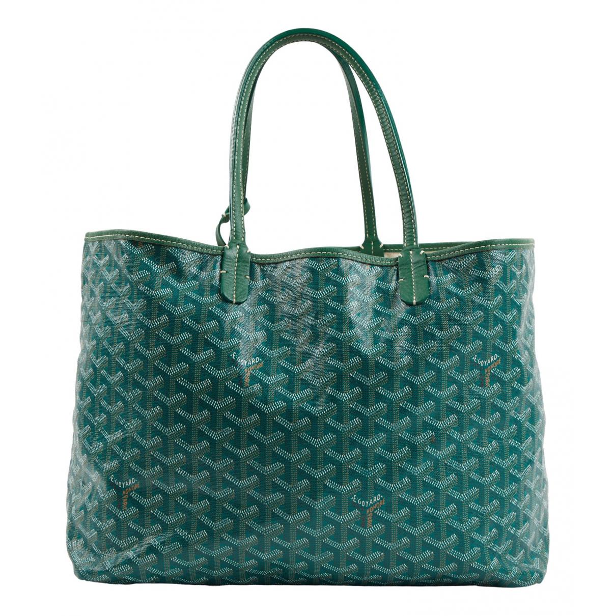 Goyard Saint-Louis Green handbag for Women \N