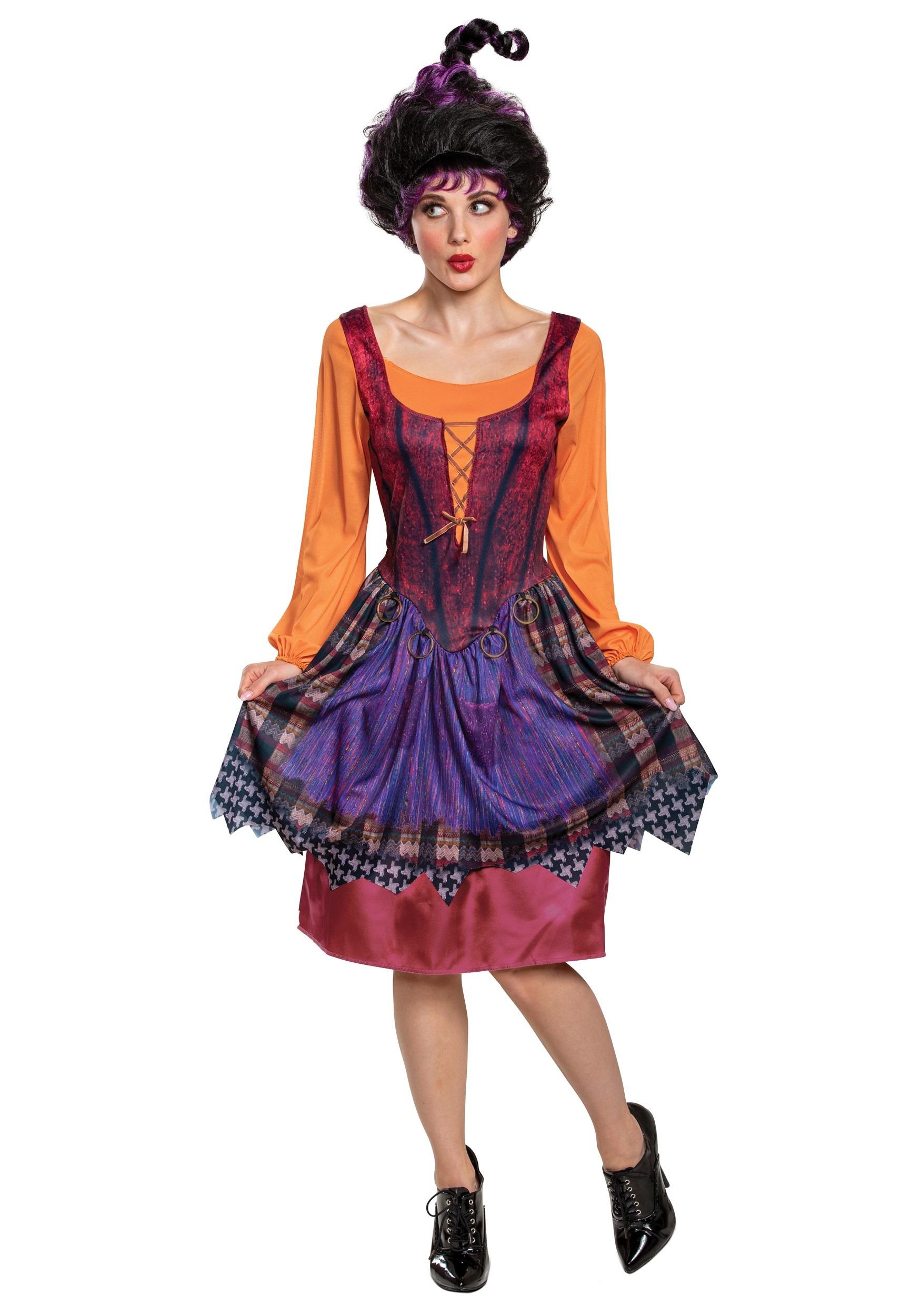 Hocus Pocus Classic Mary Costume For Women