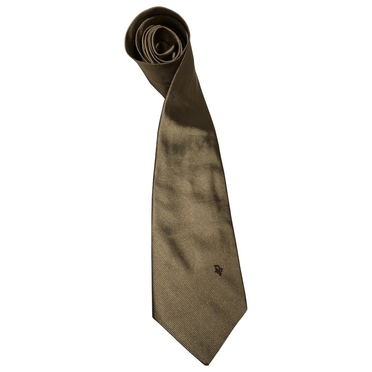Dior Homme - Cravates   pour homme en soie - metallise