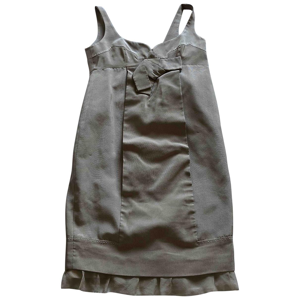 Paule Ka \N Kleid in  Beige Baumwolle