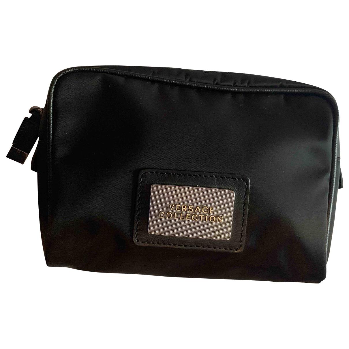 Bolsos clutch en Algodon Negro Versace