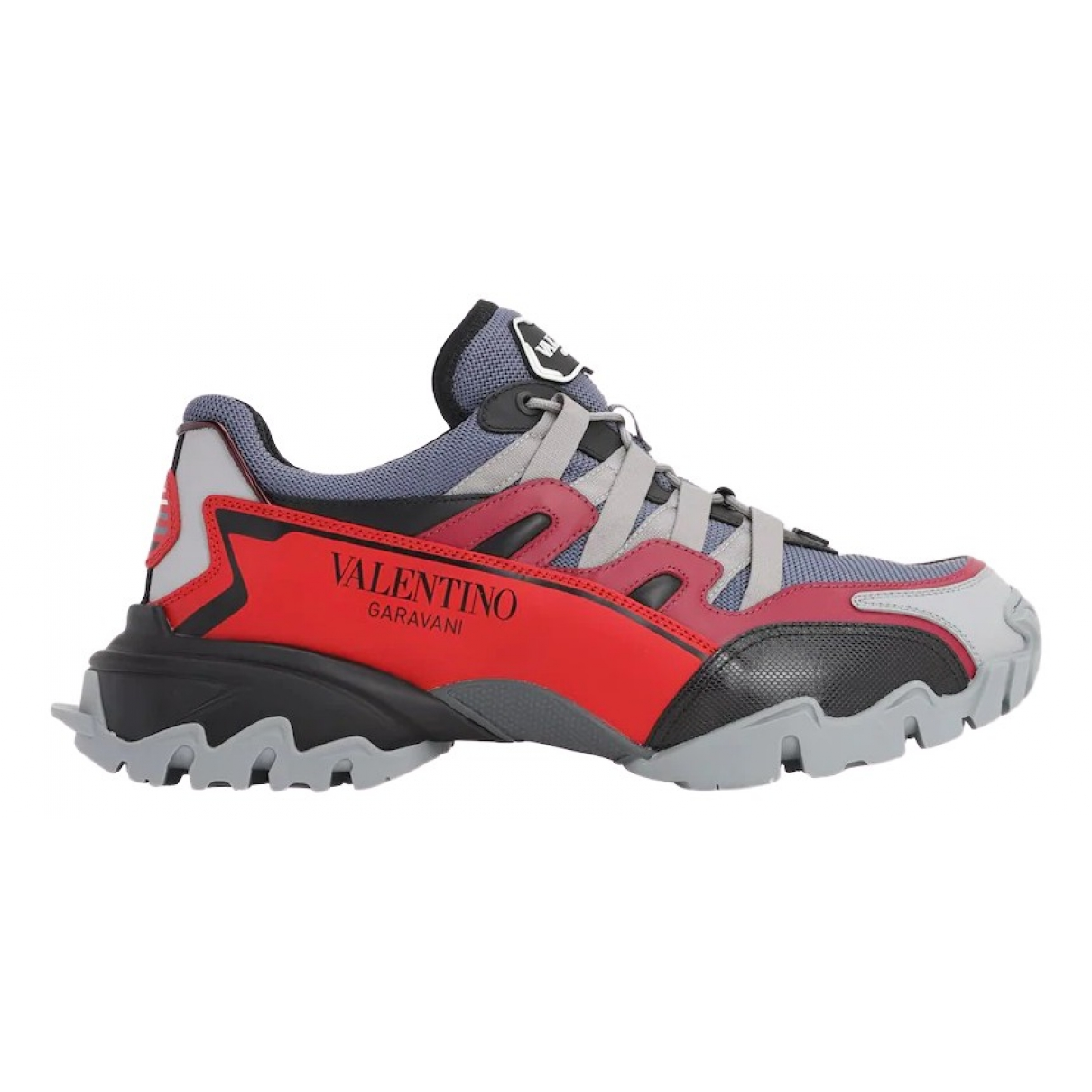 Valentino Garavani \N Red Leather Trainers for Men 41 EU