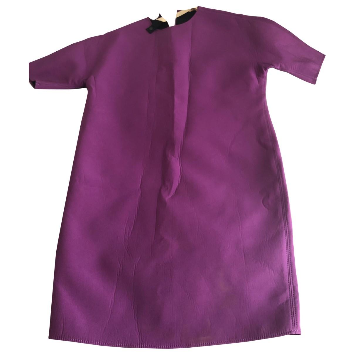 N°21 \N Kleid in  Lila Polyester