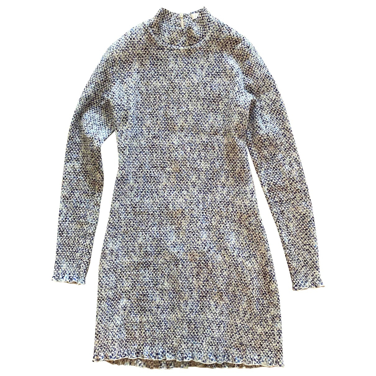 Lala Berlin \N Kleid in  Blau Viskose