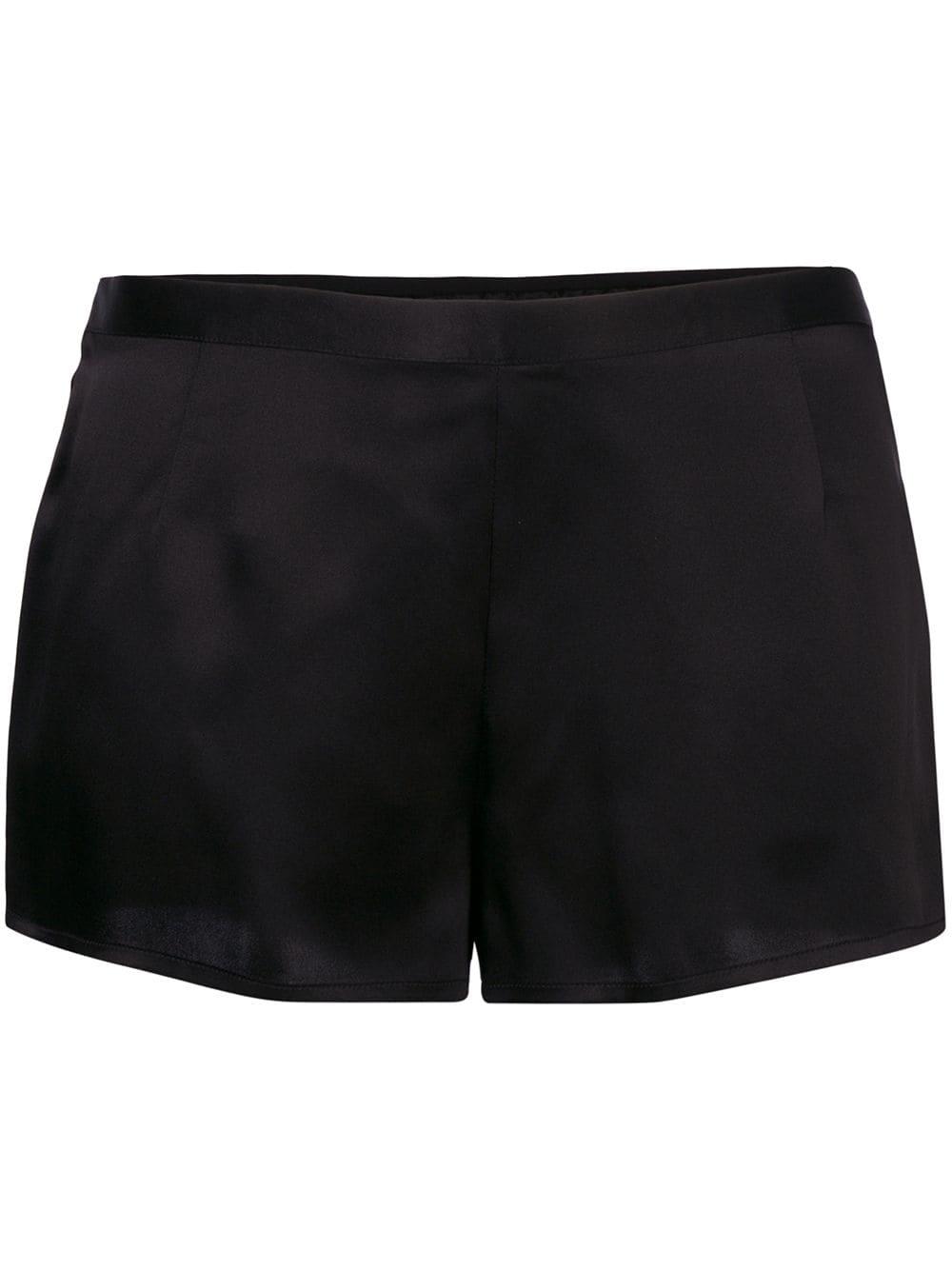 Silk Silk Pajama Shorts