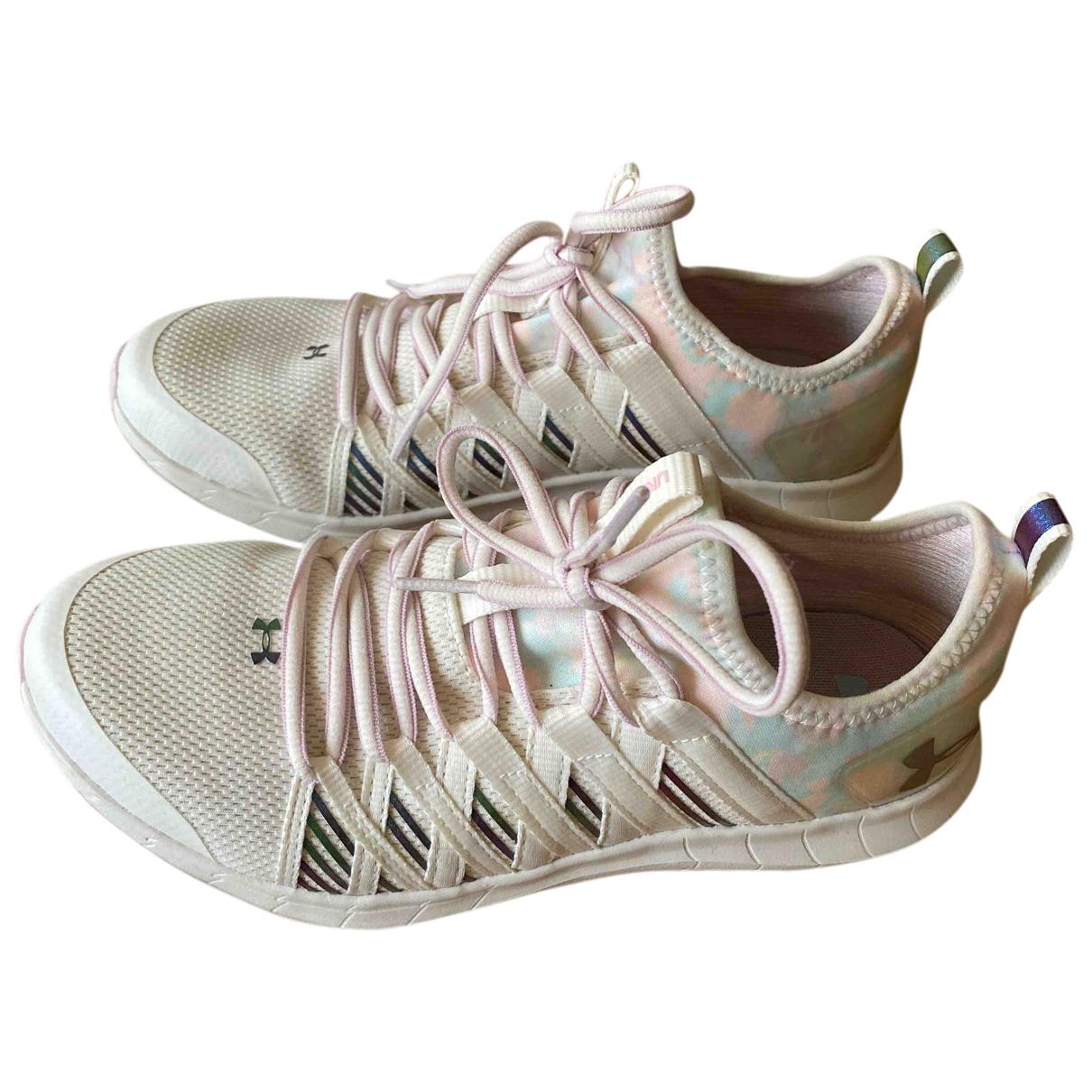 Under Armour \N Sneakers in  Weiss Kunststoff