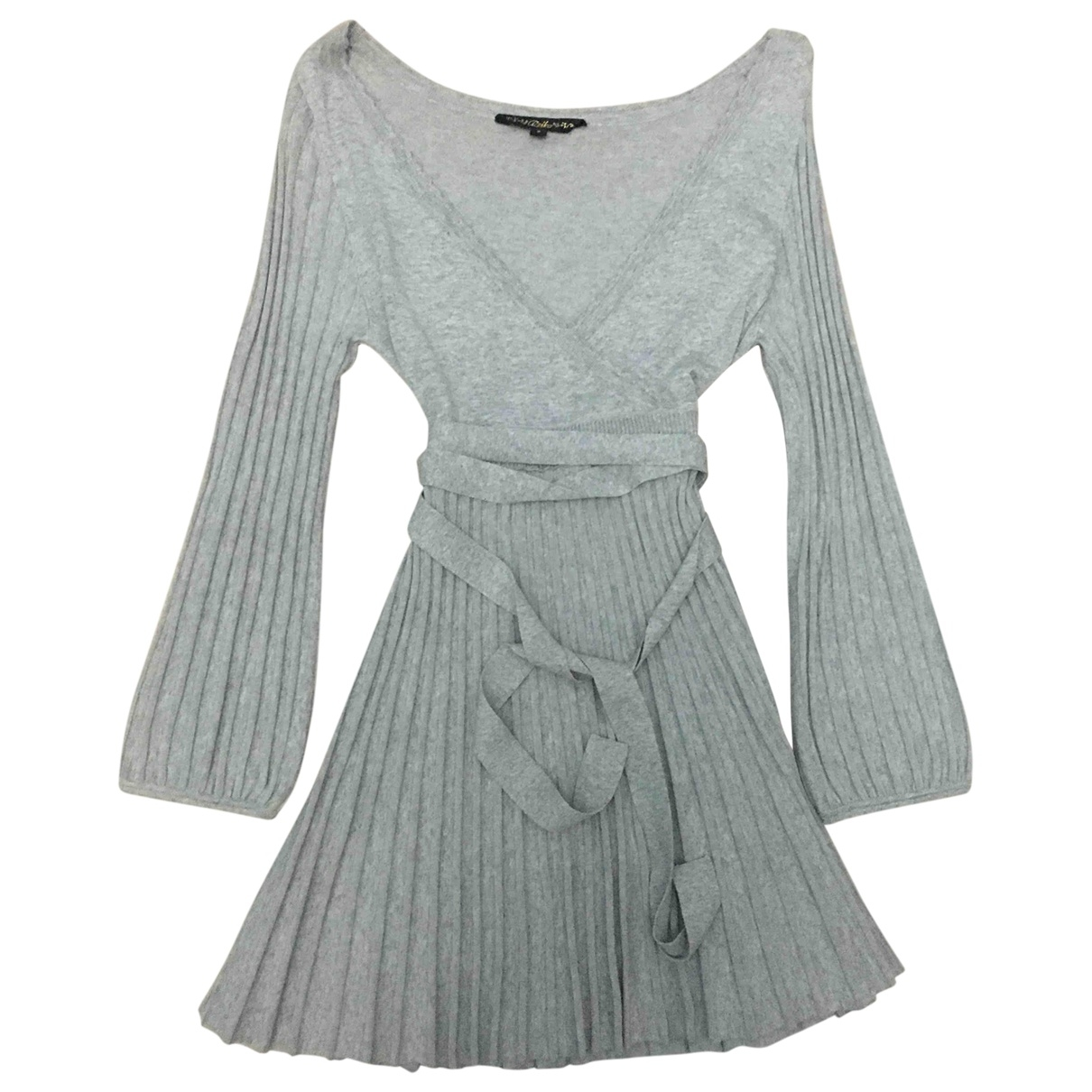 Non Signé / Unsigned \N Grey dress for Women S International