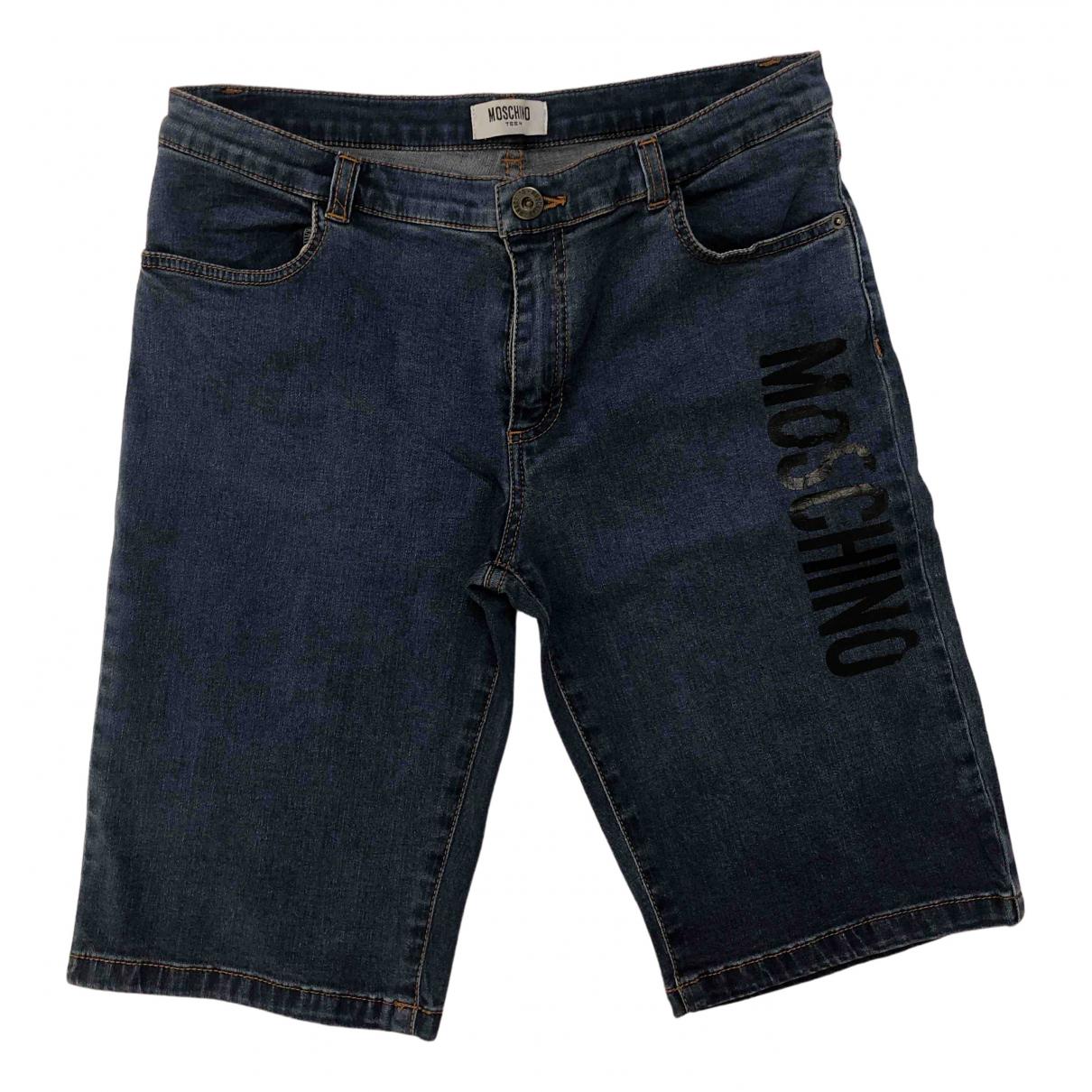 Moschino \N Shorts in  Blau Baumwolle