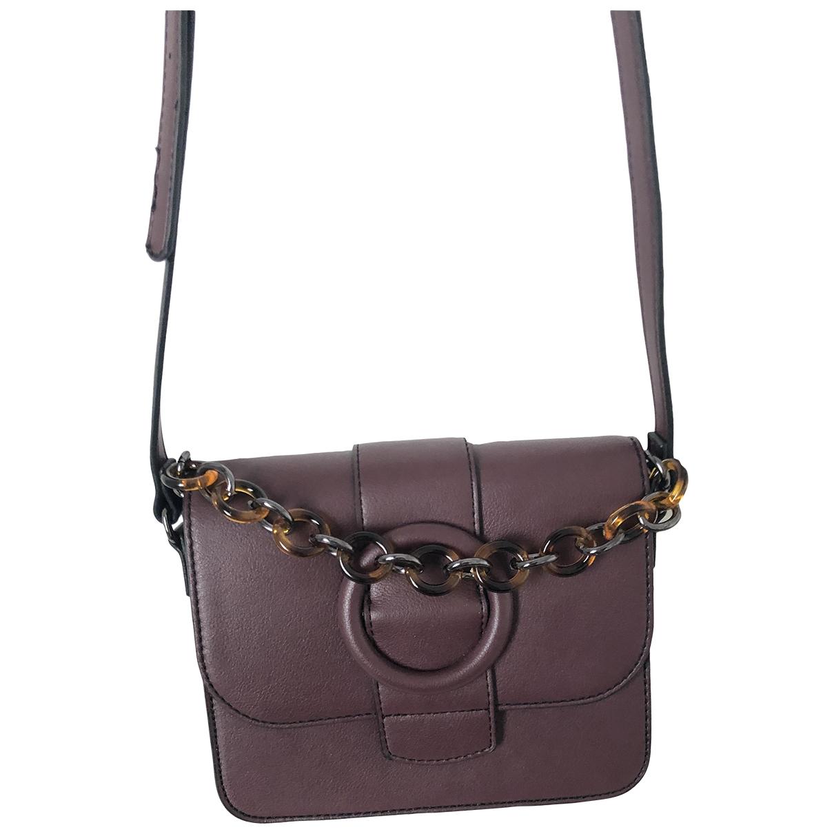 Non Signé / Unsigned \N Burgundy handbag for Women \N