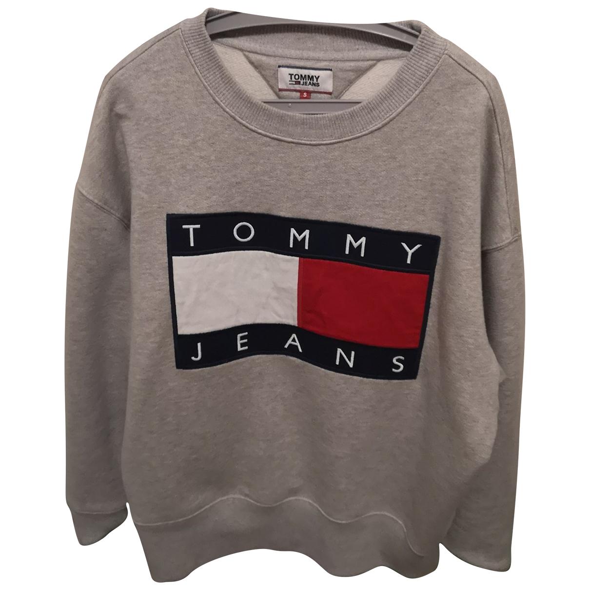 Tommy Jean - Pulls.Gilets.Sweats   pour homme en coton - gris