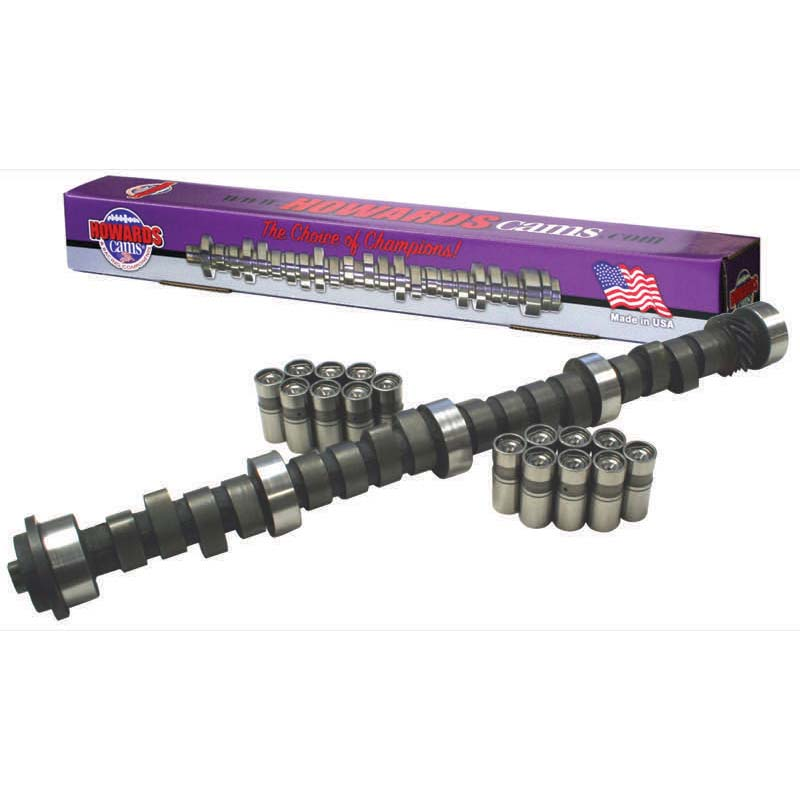 Hydraulic Flat Tappet Camshaft & Lifter Kit; 1967 - 1990 Oldsmobile 260-455 2400 to 6000 Howards Cams CL511431-10 CL511431-10