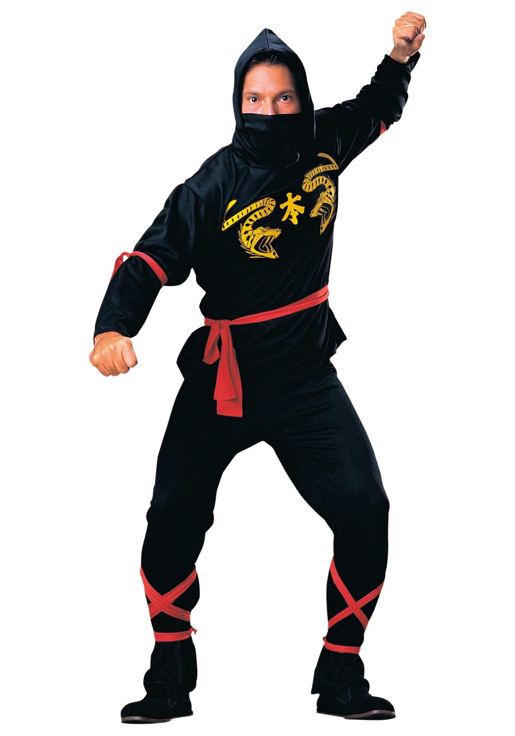 Adult Mens Ninja Costume