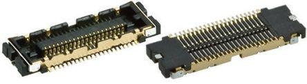 Hirose , FX12, 60 Way, 2 Row, Straight PCB Header (5)