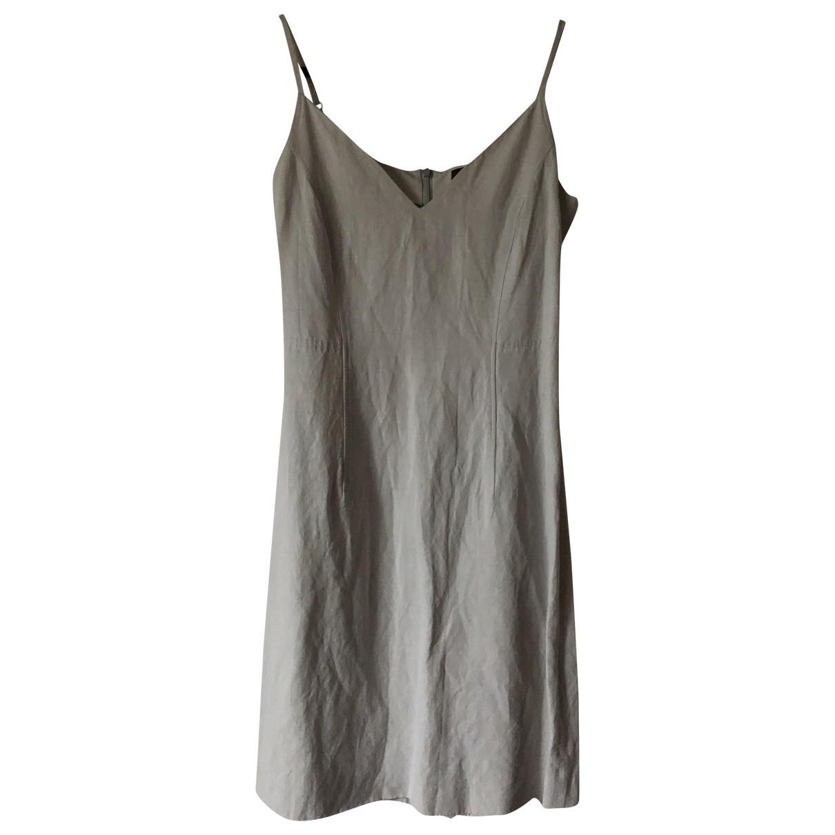 Kenzo \N Kleid in  Grau Viskose
