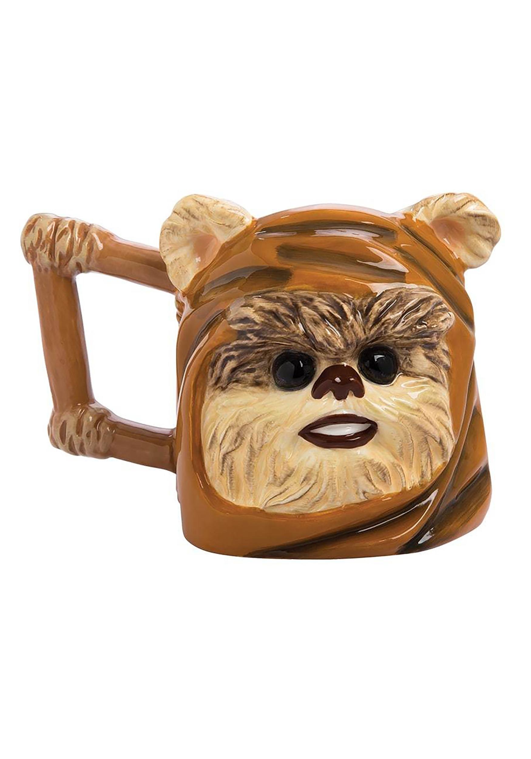 Star Wars Ewok Ceramic Sculpted 24 oz Mug