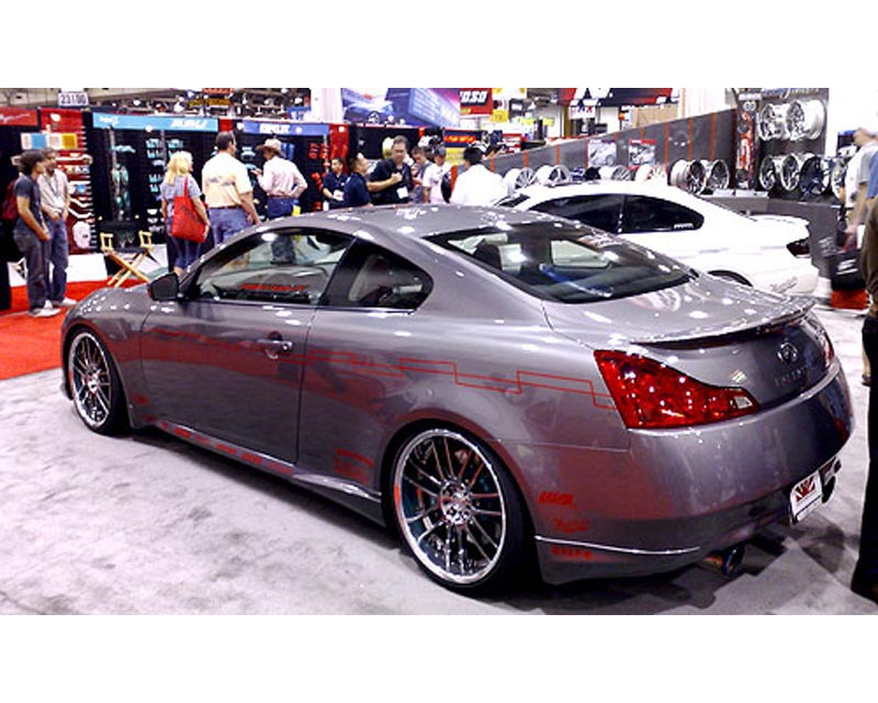 JP Side Skirt Diffusers Infiniti G37 Coupe S 07-12