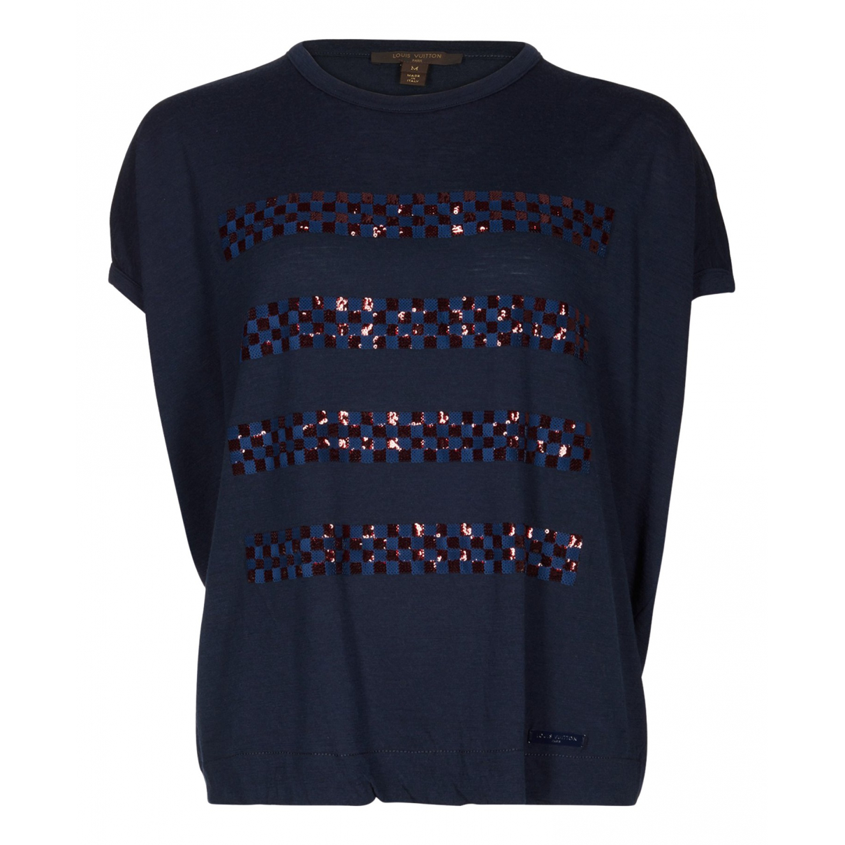 Louis Vuitton N Navy Wool Knitwear for Women M International
