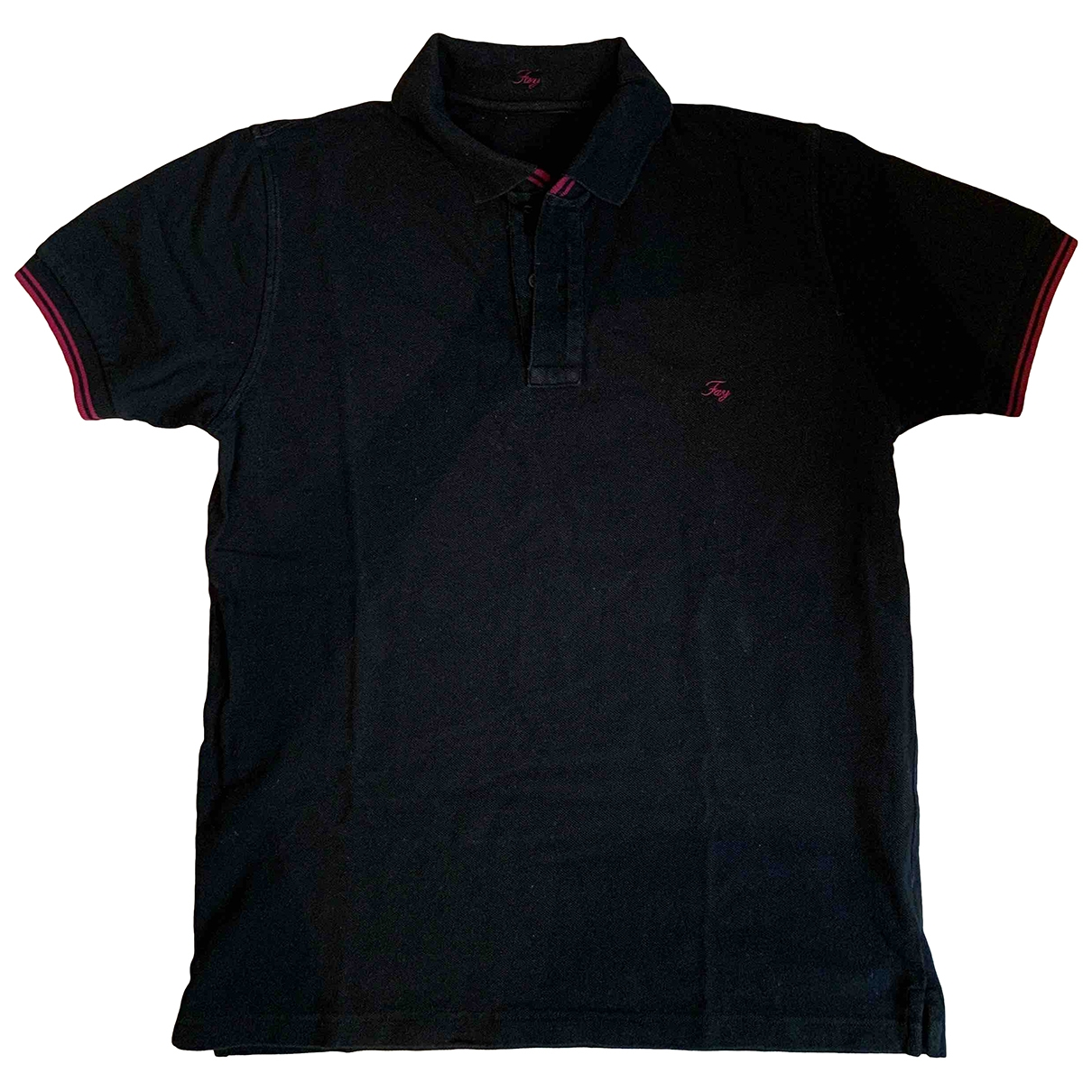 Fay \N Black Cotton Polo shirts for Men L International