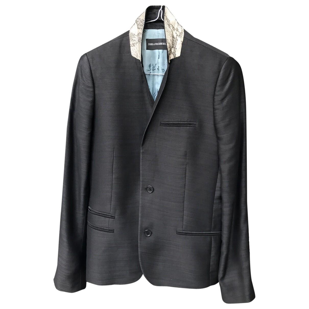 Zadig & Voltaire \N Black jacket for Women 36 FR