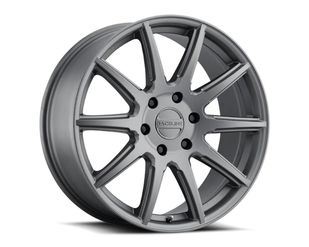 Raceline 159G Spike Wheel 22x9.5 6x139.7 35mm Gunmetal