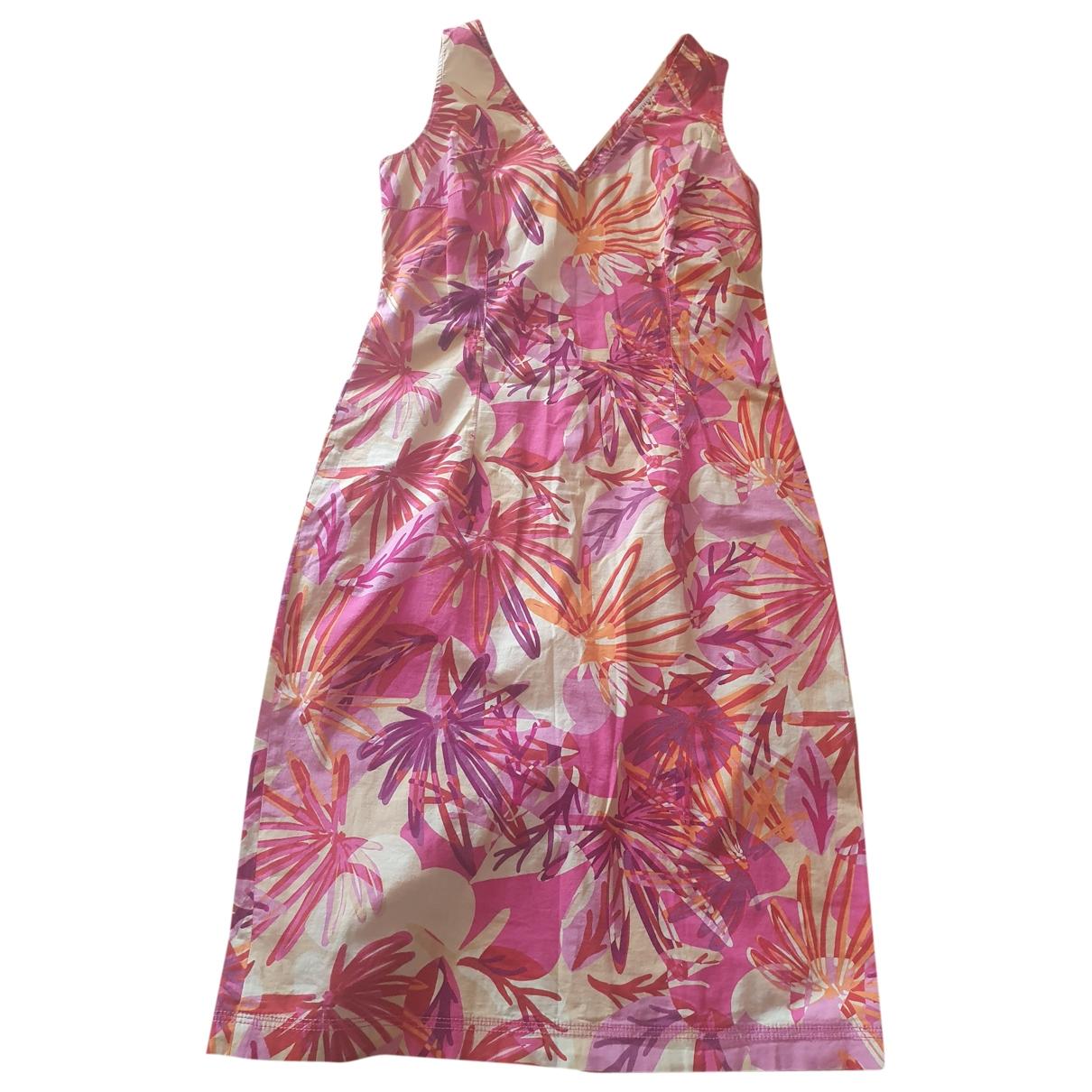 Marella \N Kleid in  Bunt Baumwolle