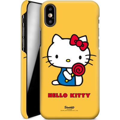 Apple iPhone XS Smartphone Huelle - Hello Kitty Lollipop von Hello Kitty