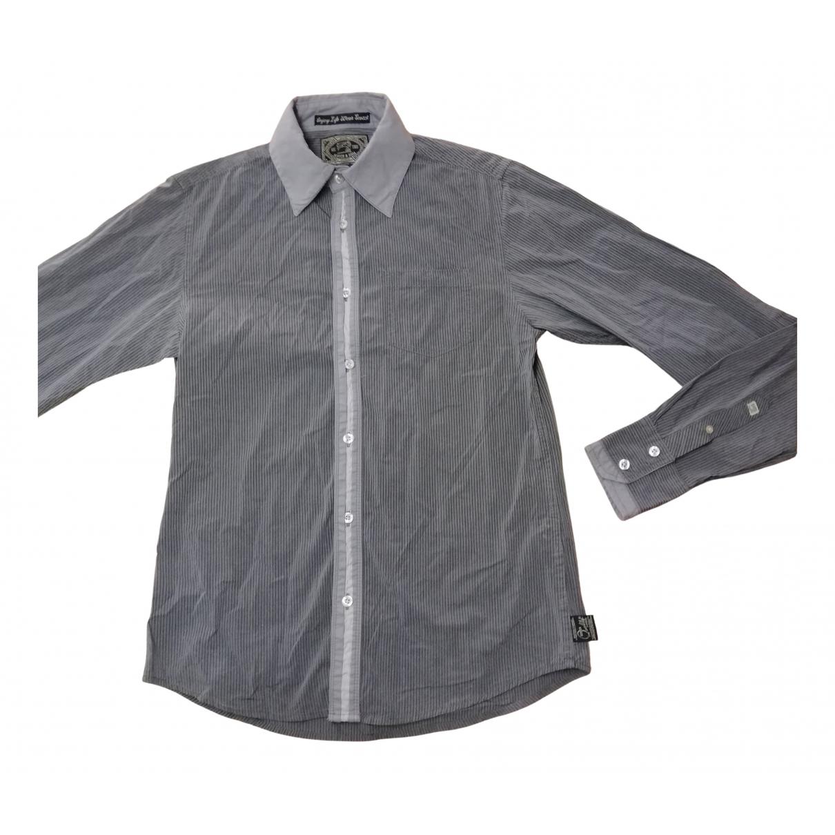 Scotch & Soda \N Grey Cotton Shirts for Men S International