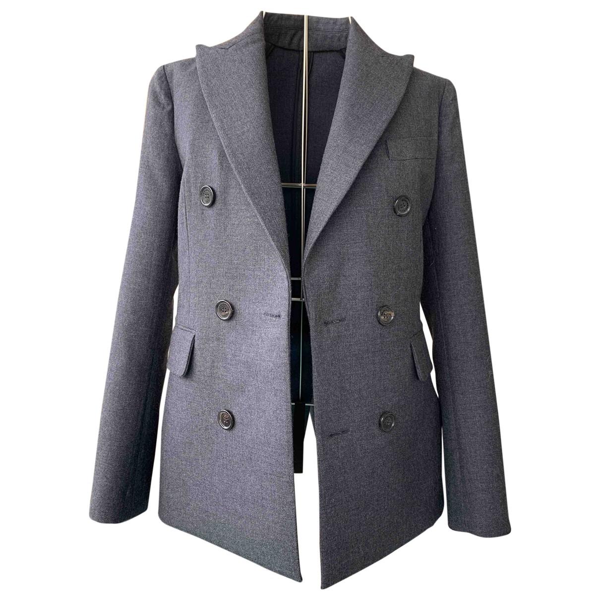 Dsquared2 - Veste   pour femme en laine - gris