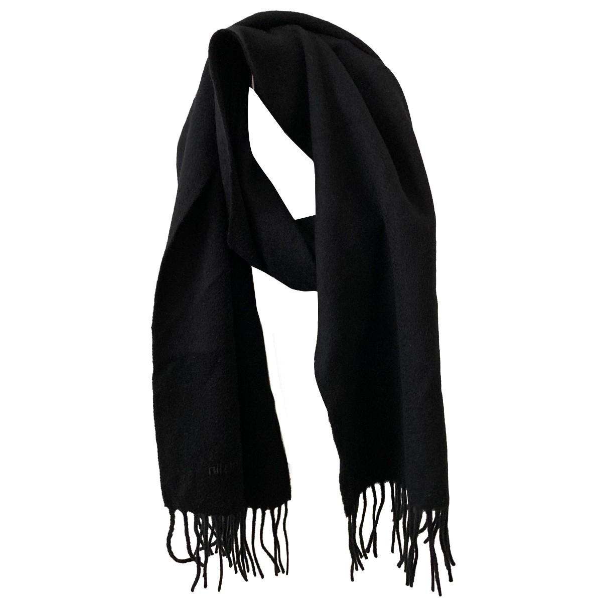 Pierre Cardin - Cheches.Echarpes   pour homme en laine - noir