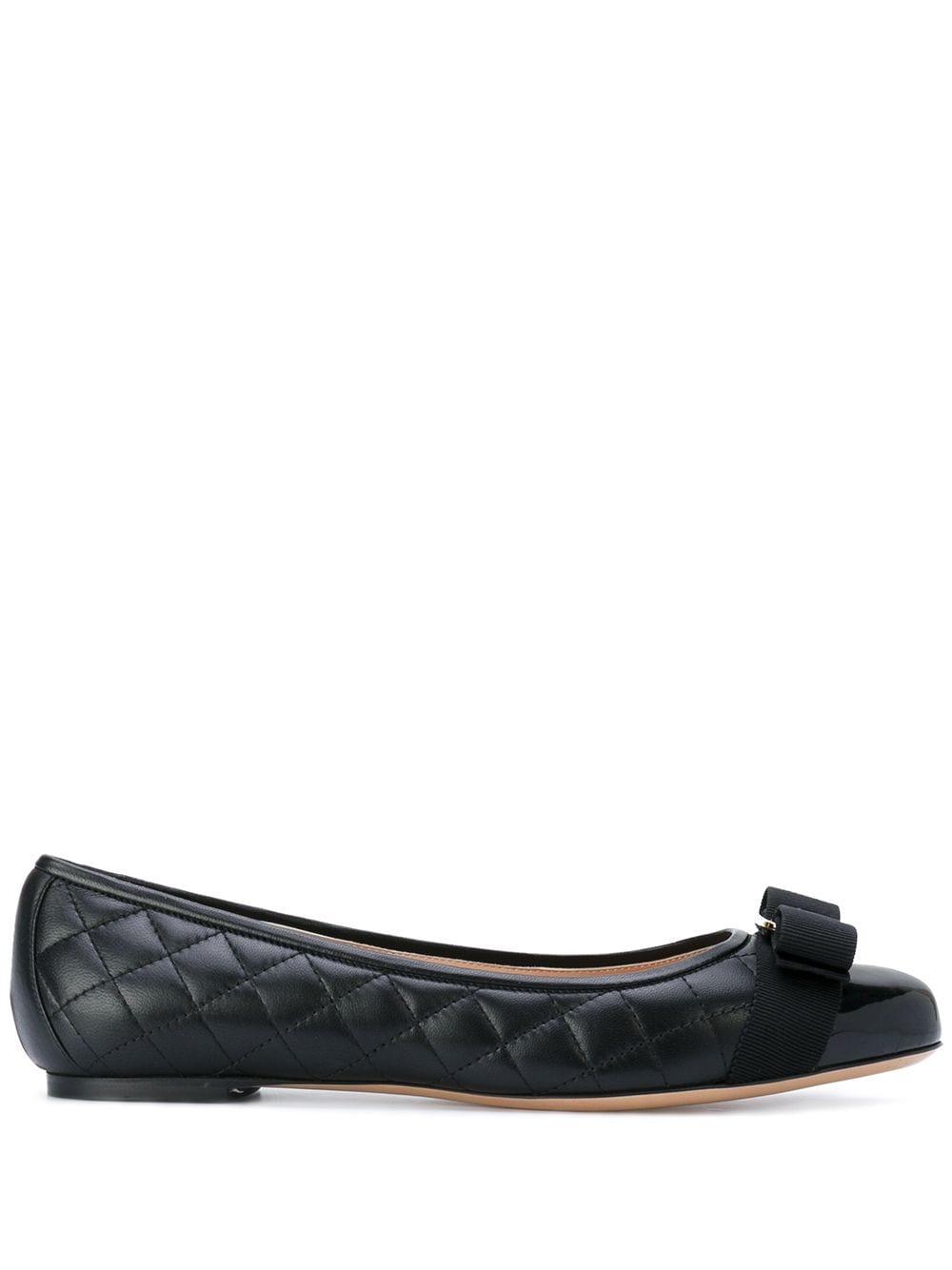 Varina Q* Leather Ballets