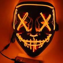 Halloween Skeleton Luminous Mask