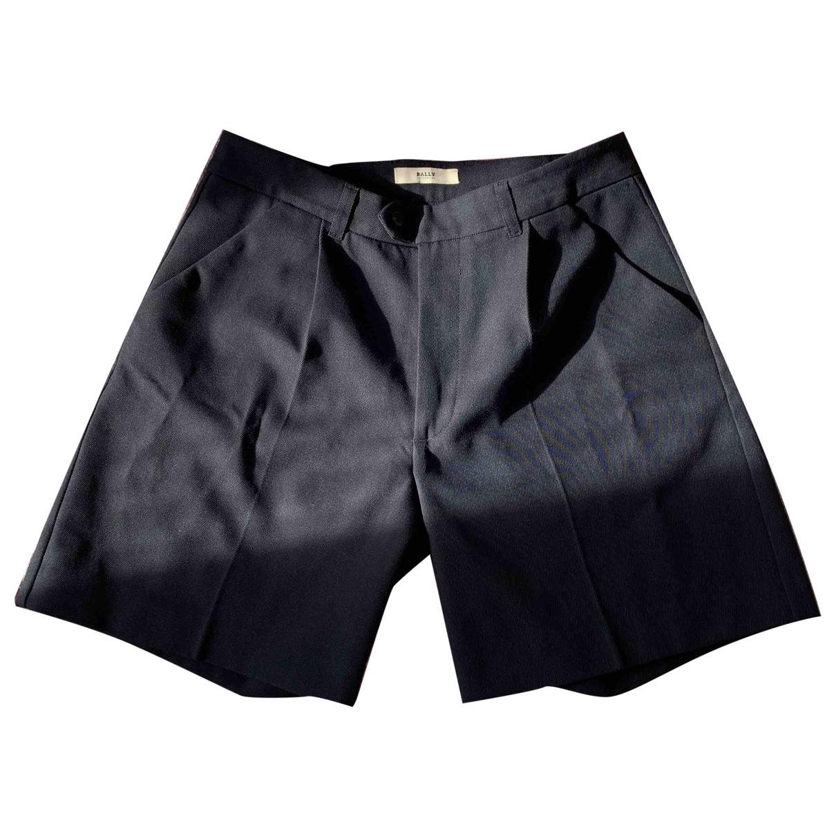 Bally \N Shorts in  Blau Baumwolle