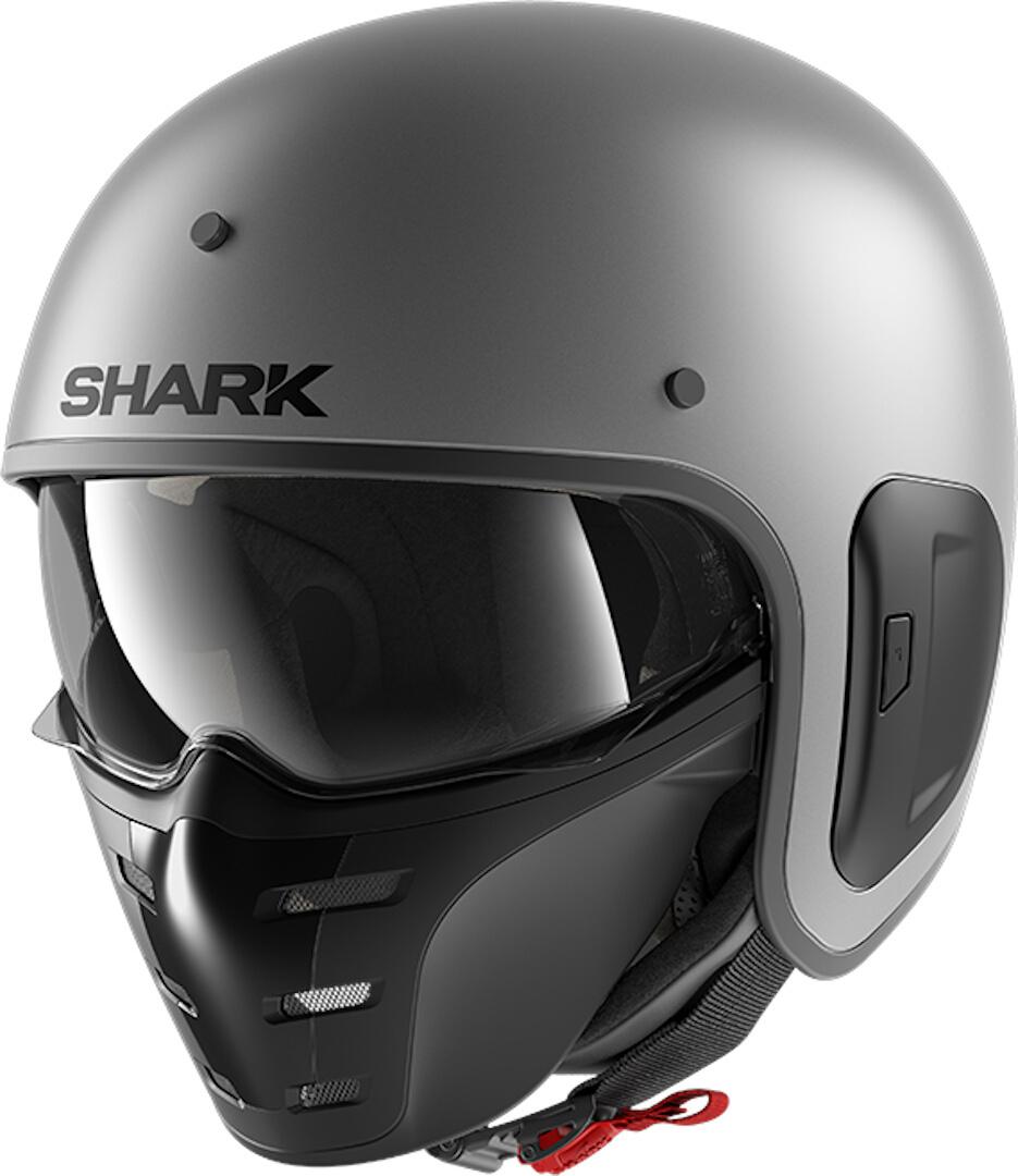 Shark S-Drak 2 A02 Blank Matt Iron Anthracite Jet Helmet XL