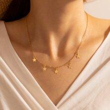 Star Tassel Chain Necklace