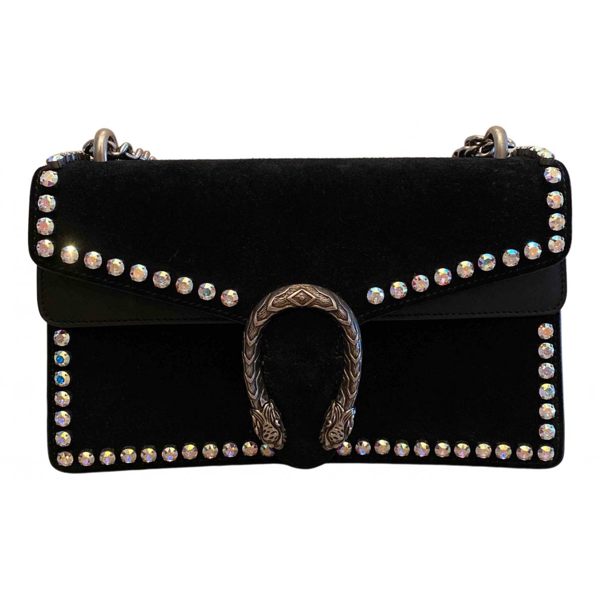 Gucci Dionysus Black Suede handbag for Women \N