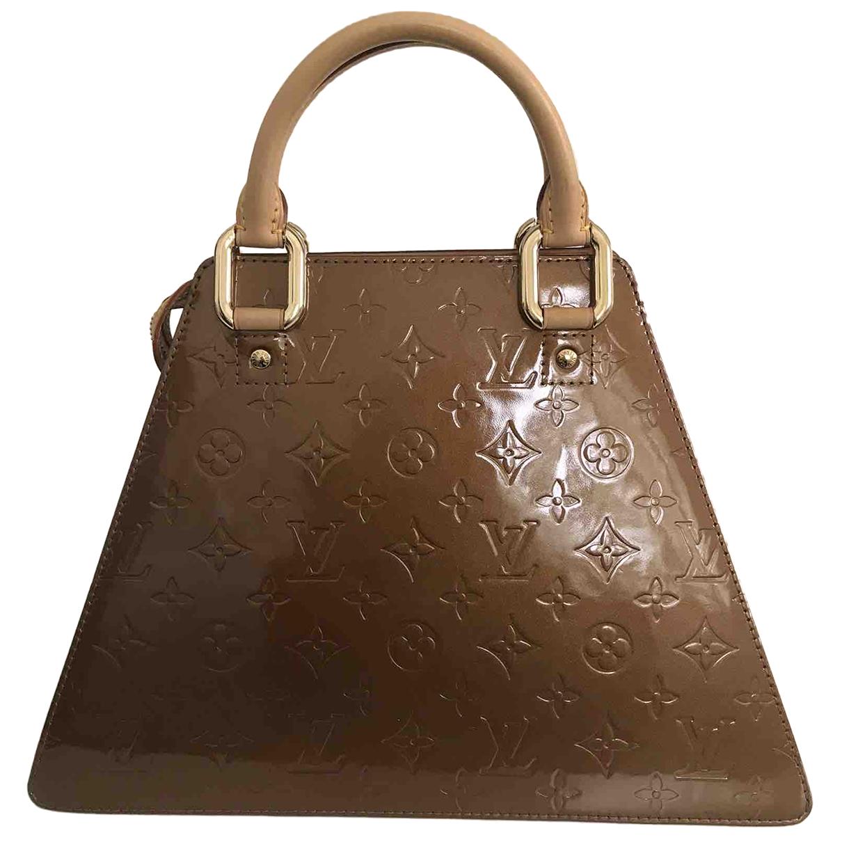 Louis Vuitton - Sac a main Forsyth pour femme en cuir verni