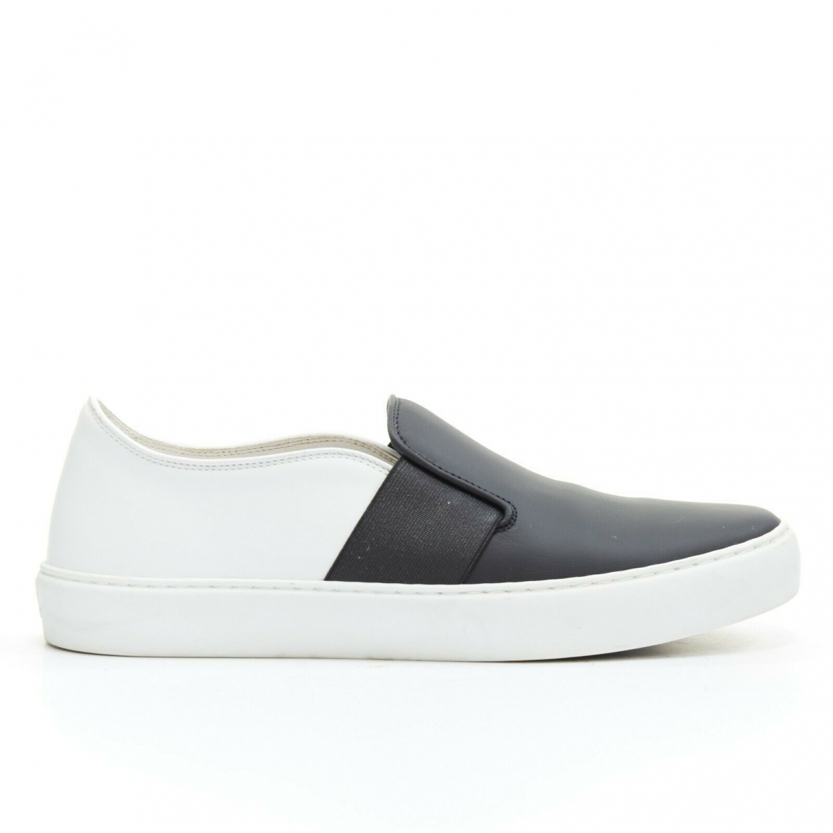 Chanel \N Black Leather Trainers for Women 37.5 EU
