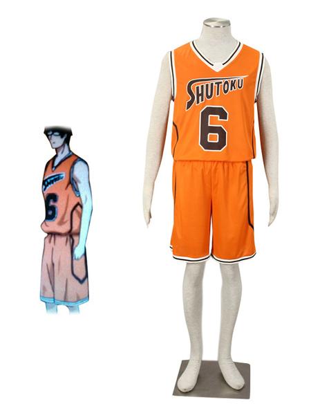 Milanoo Kuroko No Basketball Midorima Shintaro Cosplay Costume  Halloween