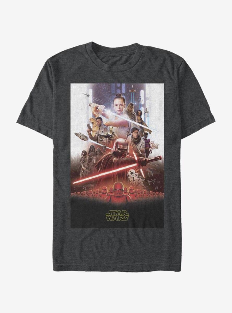 Star Wars Episode IX The Rise Of Skywalker Last Poster T-Shirt